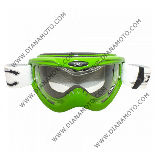 Очила за крос зелени X FORCE универсални к. 7899