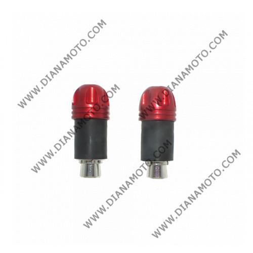 Тапи за кормило H140 универсални червени к. 5832