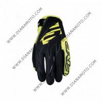 Ръкавици Five MXF3 черно-жълти L к. 11158