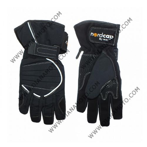 Ръкавици NORDCAP RIDER FI-0202 черни промаска XS k. 7335