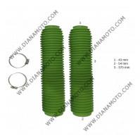 Маншони за предница 43 мм дължина 370 мм зелени к. 4477