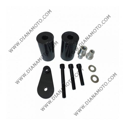 Тапи предпазни за рама Yamaha YZF-R6 2003-2005 YZF-R6 S 2006-2008 карбон к. 9024