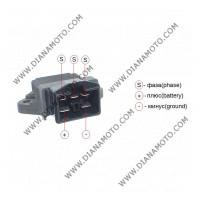 Реле зареждане Aprilia RXV 450-550 Honda CBR1100XX CBR900RR DYLAN 125 HORNET 600 VFR750 Shadow 750 Varadero 125 Piaggio X9 31600-MV4-010 5 пина k. 4459