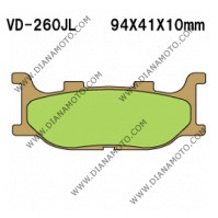 Накладки VD 260 Artrax AX35-199 СИНТЕРОВАНИ к. 2252