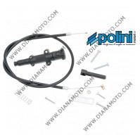Комплект ръчен смукач за карбуратор черен POLINI  OEM 316.0010  к. 10816