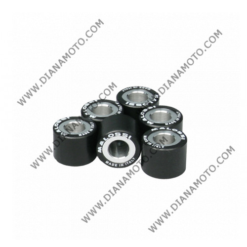 Ролки вариатор Malossi 20x17 мм 12.5 грама 6611095.О0 к. 4-386