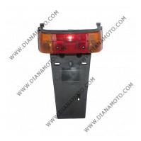 Стоп цял Yamaha JOG 50 2JA червен с мигачи и опашка к. 1366