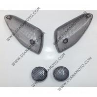 Стъкла за мигачи к-т Yamaha Aerox MBK Nitro 50 карбон к. 7363
