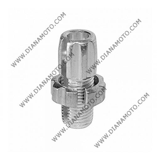 Накрайник за регулиране на жило 10 мм х 1.25 резба алуминиев к.11931