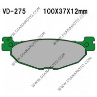 Накладки VD 275 EBC FA408 FERODO FDB2200 LUCAS MCB768 Органични к. 4068