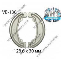 Накладки VB 130 ф 128.6х30мм EBC 310 FERODO FSB706 Honda CM 200  Cub 125 к. 5300