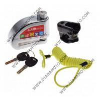Заключващо за диск с аларма ф 7 мм к. 5246