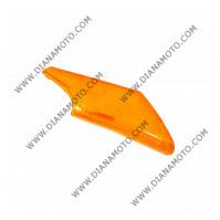 Стъкло за мигач Yamaha JOG 50 3YJ преден десен оранжев к. 1171