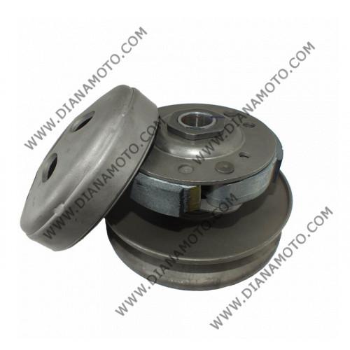 Съединител к-т с камбана и шайби Honda SH 125-150 Kymco 125-150 Malaguti ф 125 мм к. 10129