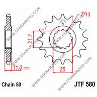 Зъбчатка предна JTF 580 - 15 к. 7738