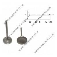 Клапан всмукателен GY6 125 150 28x66x5 к. 3-148