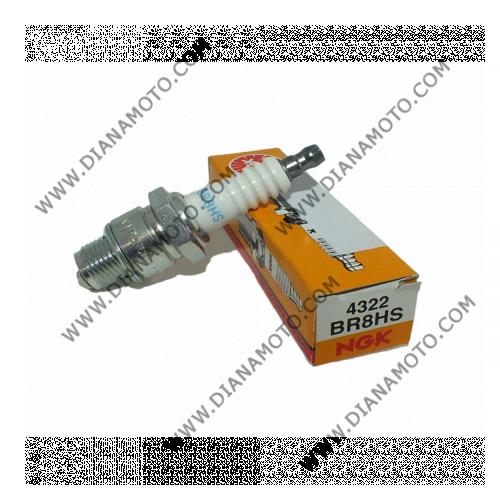 Свещ NGK BR8HS 4322 к. 4185