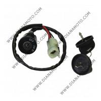 Ключалка за запалване ATV 5 кабела к. 8532