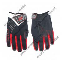 Ръкавици MX Неопрен червено-черни M k. 3151