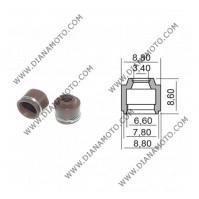 Гумички за клапан Yamaha Neos Jog BWS 50 4T 3.4x6.6-7.8x8.60 равни на код RMS 100669270 к. 9588