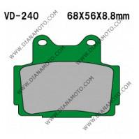Накладки VD 240 EBC FA104 FERODO FDB386/R LUCAS MCB541 Органични к. 2194