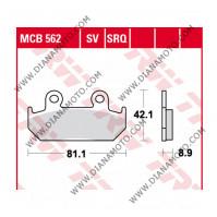 Накладки VD 142 TRW MCB562SV Sinter к. 2172