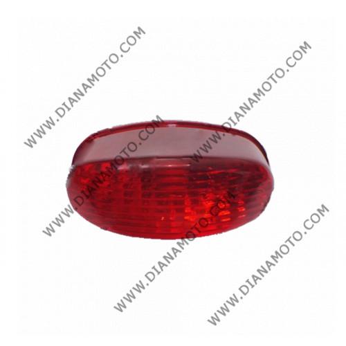 Стоп цял DFE125-8A червен к. 3-712