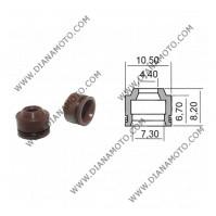 Гумички за клапан Kymco GY6 50-125-150 4.4x7.3-10.5x6.7-8.2 равни на код RMS 100669240 k. 3-152