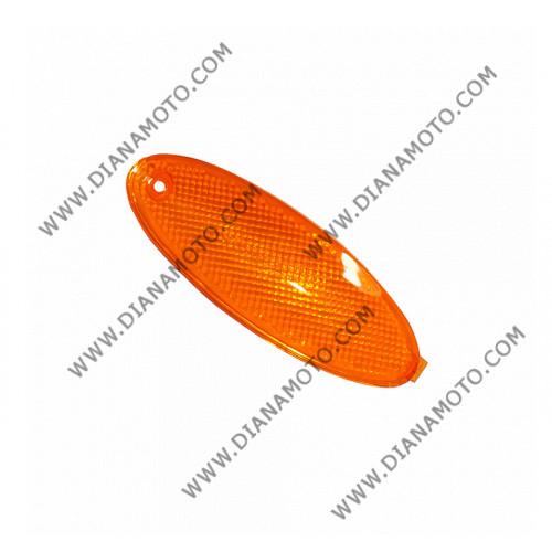 Стъкло за мигач Malaguti F15 50 преден десен оранжев k. 5408