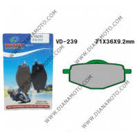 Накладки VD 239 EBC FA101 FERODO FDB383 LUCAS MCB539 Органични к. 3-946