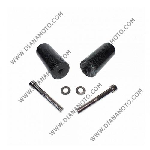 Тапи предпазни за рама Yamaha YZF-R6 99-02 карбон к. 8997