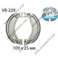 Накладки VB 229 ф 109х25мм EBC 518 503 887 FERODO FSB731 NHC MBS2206 к. 14-64