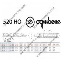 Верига Ognibene 520 HO G&B - 120L к. 41-4