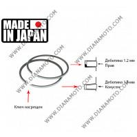 Сегменти 41.00 мм 1.2 прав + 1.5 конус насрещен ключ 2T Japan к. 178