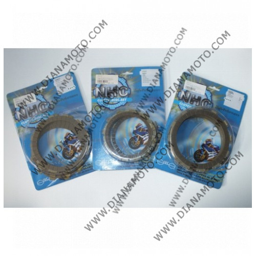 Съединител NHC 136x101x3 -8бр CD1253 R Friction paper к. 14-353