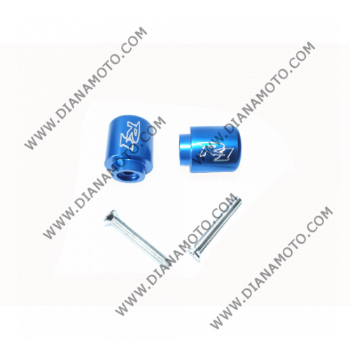 Тапи за кормило Yamaha R6 06-07 R1 95-08 сини к. 5802