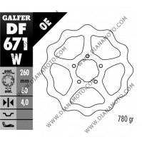 Спирачен диск преден Aprilia 125-500 ф 260x60x4.0 мм 5 болта DF671 равно на код RMS 225160250 к. 9355