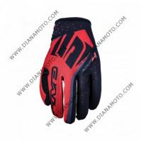 Ръкавици Five MXF4 черно-червени L к. 11148