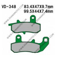 Накладки VD 348 EBC FA157 FERODO FDB607 LUCAS MCB612 NHC S3040 AK150 Органични k. 14-87