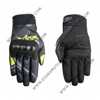 Ръкавици Favos MX Atlas черни флуоресцентни размер M к. 7484