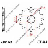 Зъбчатка предна JTF 564 - 12 к. 7734
