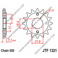 Зъбчатка предна JTF 1321 - 13 к. 7708