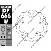 Спирачен диск преден заден Piaggio 125-500 ф 240x125.5x4.0 мм 5 болта равен на код RMS 225162060 DF666 к. 5719