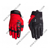 Ръкавици GLEN II черно-червени Nordcode XL к. 4219