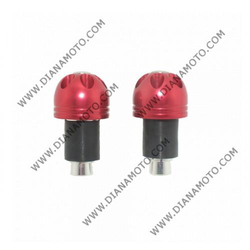 Тапи за кормило H060 универсални червени к. 5814