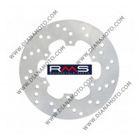 Спирачен диск преден Piaggio Vespa GTS Derbi Gilera ф 220x105x4.1 мм 6 болта RMS 225162111 к. 12208