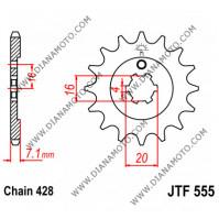 Зъбчатка предна JTF 555 - 15 к. 7101