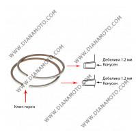 Сегменти 47.00 мм 1.2 конус + 1.2 конус ключ горен 2T равни на код RMS 100100210 к. 6026