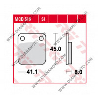 Накладки TRW MCB510SI Off road VD 120 EBC FA54 FERODO FDB250 NHC H1012 CU-1 Синтеровани к. 28-26