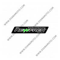 Съединител NEWFREN 136x101x3 - 8бр. 12 зъба F2602 SR Friction paper к. 12-104